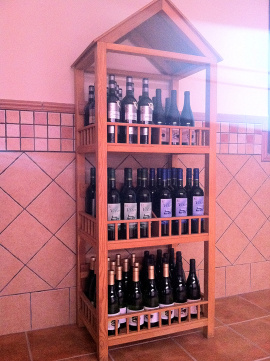 Gran variedad de vinos